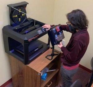 Allie 3D printing