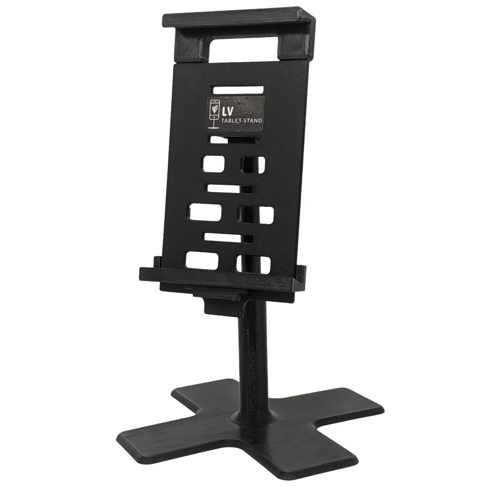 LV Tablet Stand - Large size with Desk Base